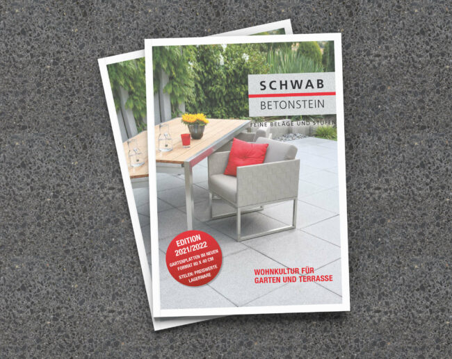 Schwab Betonstein Produktkatalog 2021/2022