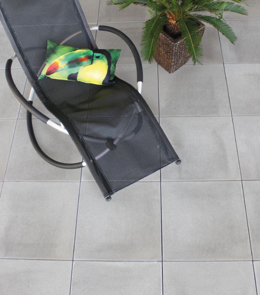 Gartenplatten Grau Glatt Von Schwab Betonstein - Gartenplatten 60x40