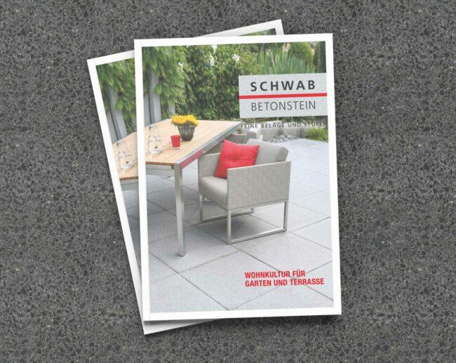 Schwab Betonstein Produktkatalog 2017